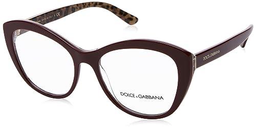 Occhiale da vista Dolce   Gabbana mod. DG3284 col. 3156  Amazon.it ... 4ed26f6b455
