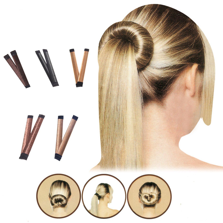 Amazon Fvermecky 5 Pcs Bun Maker Women Girls Diy Hair Bun
