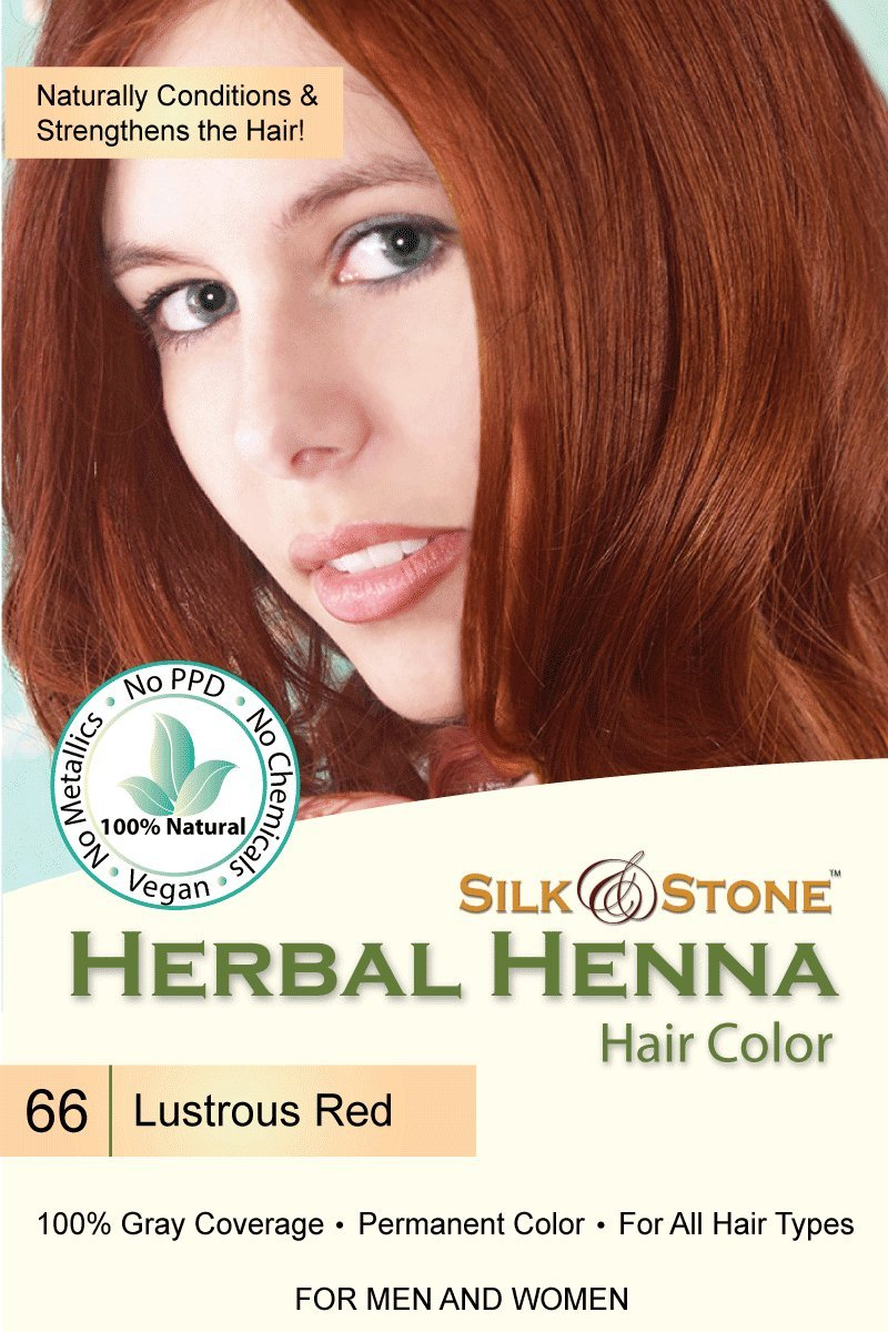 Amazon Herbal Henna Hair Color 66 Lustrous Red Beauty
