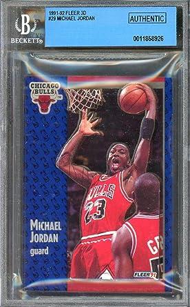 Amazon.com: Michael Jordan Card 1991-92