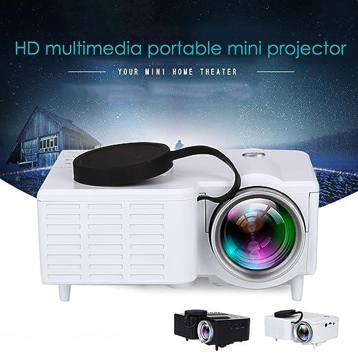 Anyutai (EE. UU. Plug) LCD Mini proyector, portátil Mini HD ...