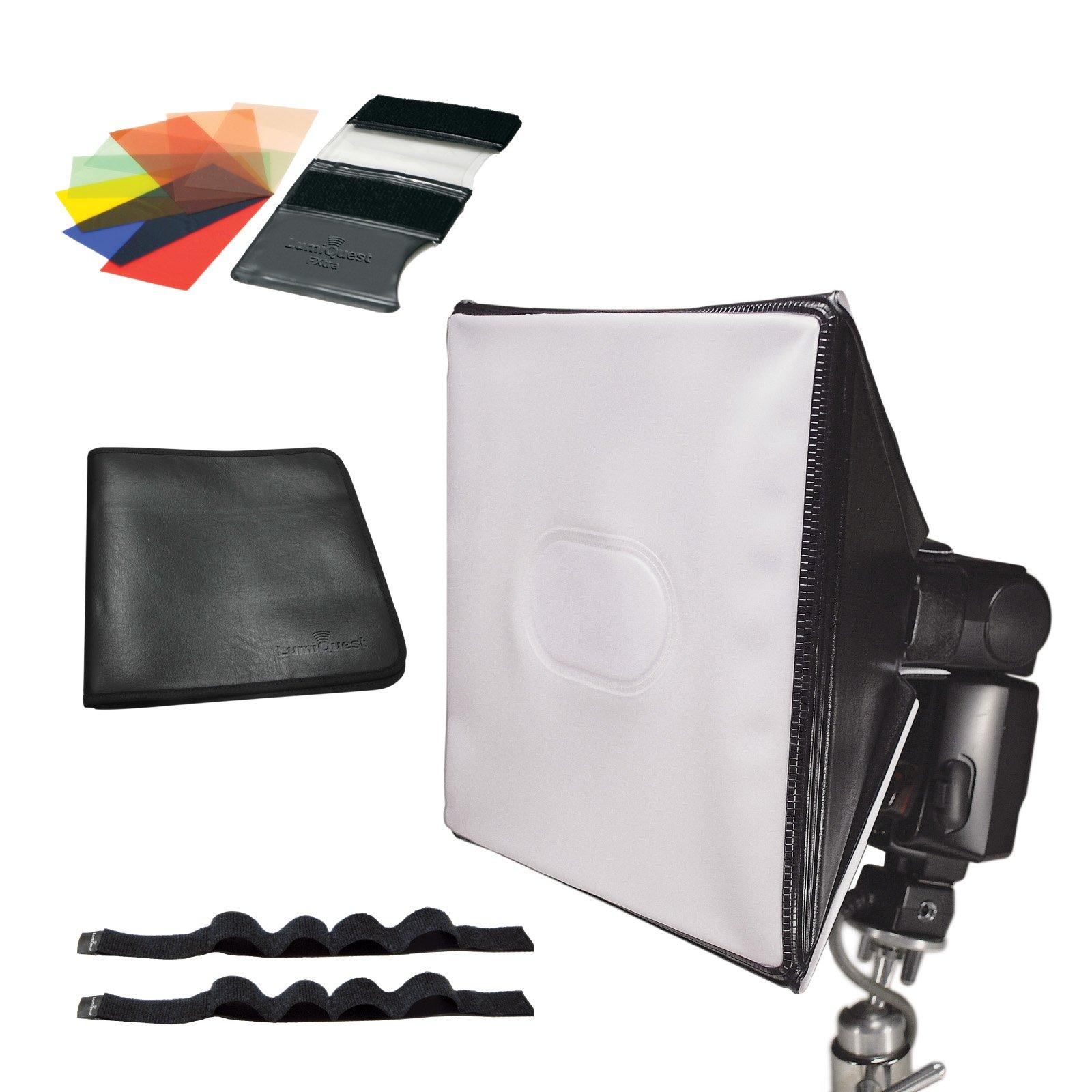 LumiQuest 9-Piece Colored Gel Strobist Kit LQ-132 by LumiQuest