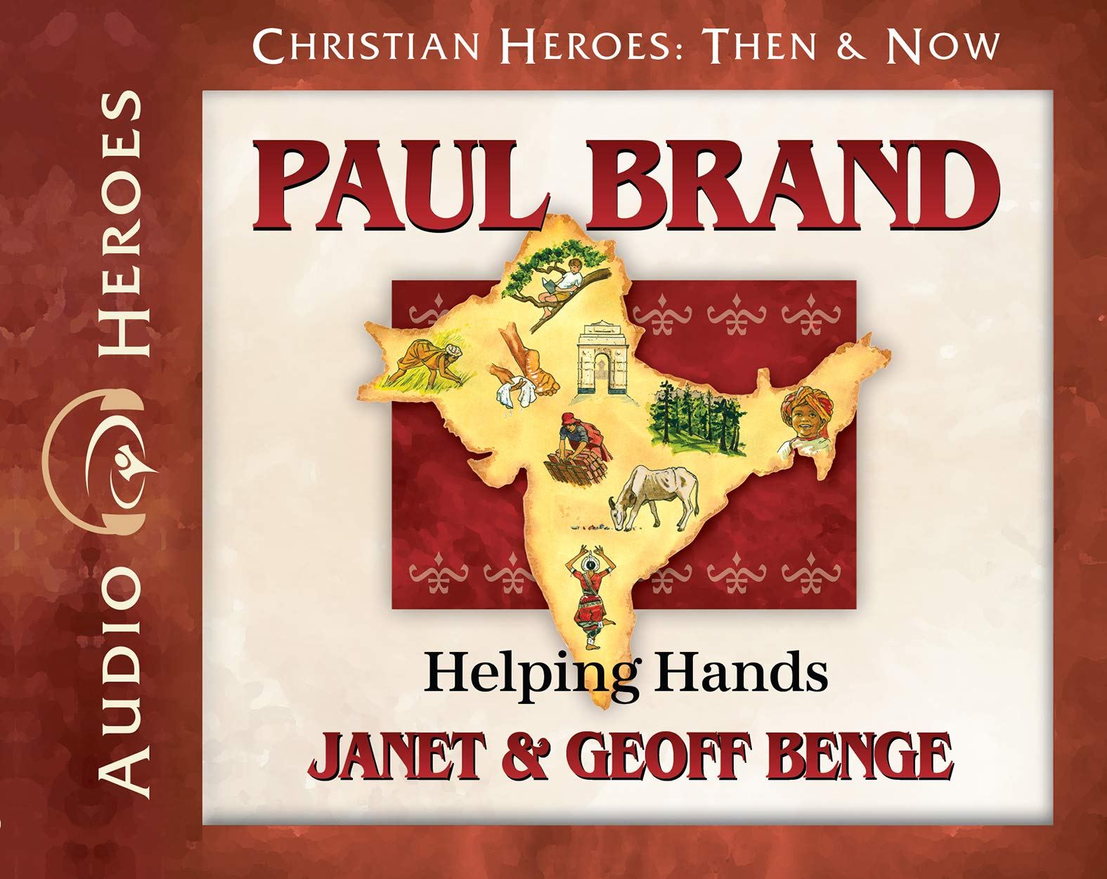 Paul Brand Audiobook: Helping Hands (Christian Heroes: Then & Now)
