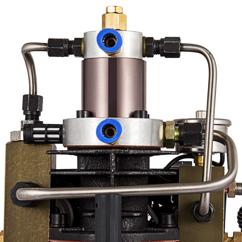 Mophorn 30Mpa Custom High Pressure Air Pump 4500Psi Air Compressor Adjustable PCP Air Pump for Compressed