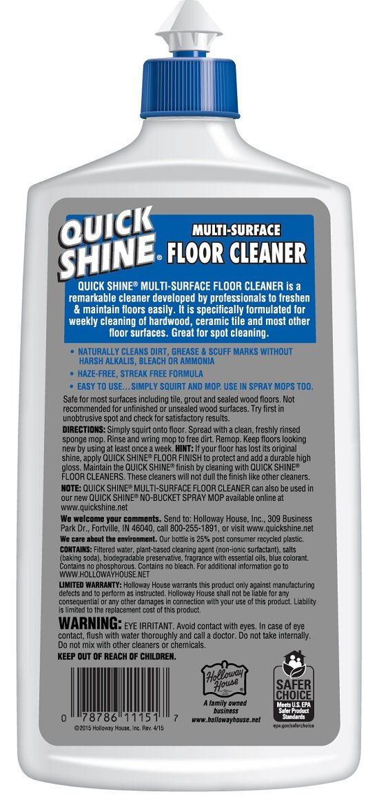 Amazon.com: Quick Shine Multi Surface Floor Cleaner, 27 Ounce: Home U0026  Kitchen
