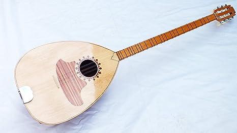 Árabe instrumento de cuerdas acústica Buzuq: Amazon.es ...