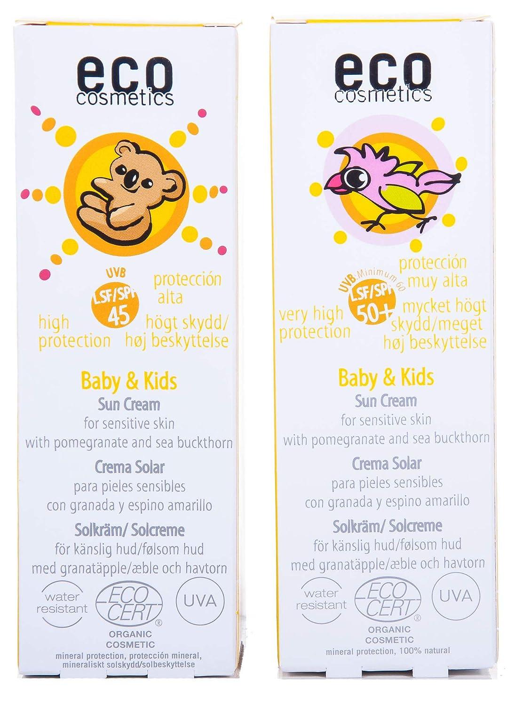 eco cosmetics baby solkräm