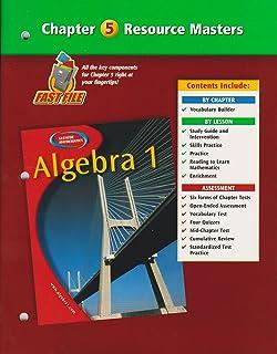 Algebra 1, Chapter 8 Resource Masters (Glencoe Mathematics): Glencoe