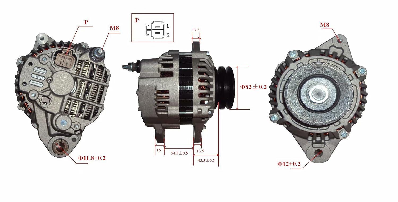 Nouvel Alternateur 12V 90 Amp/ères B M8 2.8TD ME202755 LRA01746 A3TA3098 TG08023