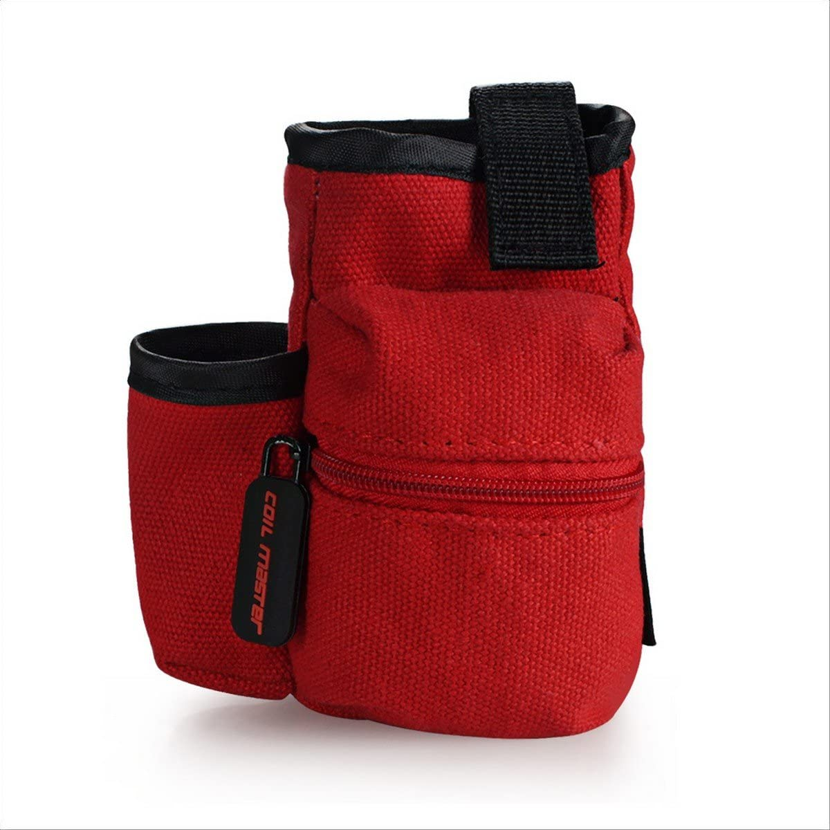 Coil Master Pbag Universal Cigarrillo electrónico Vape Travel Estuche portátil de viaje Mini Vape Bolsa para herramienta [SOLO BOLSA] (Rojo): Amazon.es: Deportes y aire libre