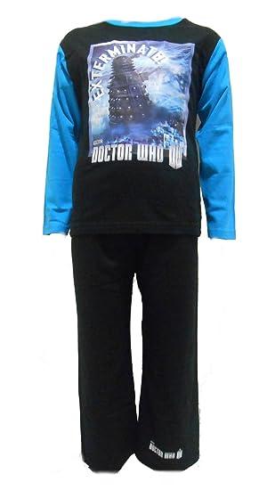 cbc608f69a Amazon.com  Doctor Who Daleks Little boys pyjamas ages 5-6 Years ...