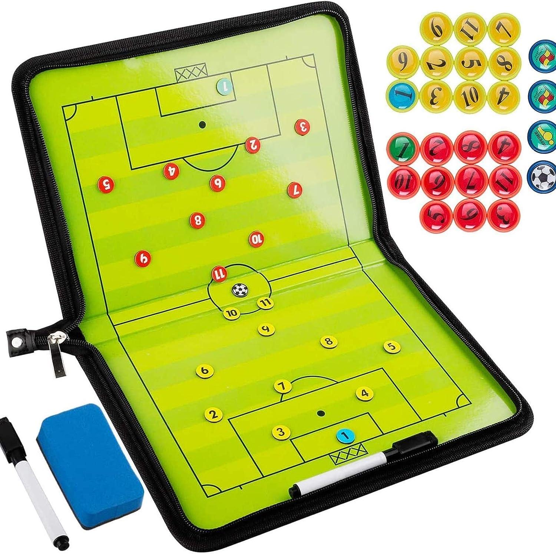 pizarras de fútbol de carpeta para entrenadores