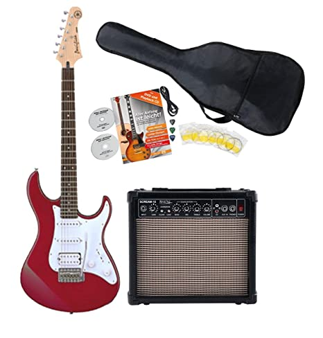 Yamaha Pacifica 012 RM Red S de guitarra Starter Set