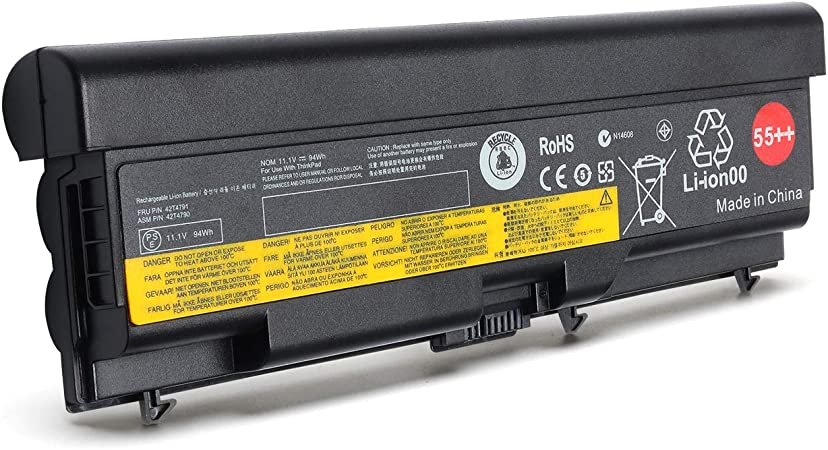 DTK Laptop Battery for Lenovo Thinkpad T420 T520 T410 T510 E40 E50 0578 E420 E425 E520 E525 L410 L412 L420 L421 L510 L512 L520 Sl410 Sl510 W510 W520 10.8V 5200MAH