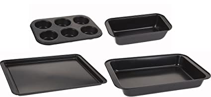 Set Compuesto de 4 Piezas para pastelería Panificadora Buzón Forma Muffin Molde Molde Forma – Ramequín