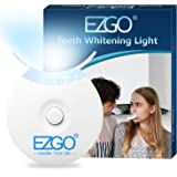 EZGO Teeth Whitening LED Accelerator Lights, 5 X LED Light Whiten Teeth Faster, Works with Tooth Whitening Gel…