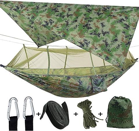 Zeltplane Camping  mit Zipper  Tarp  Shelter  3x3M  Moskitonetz