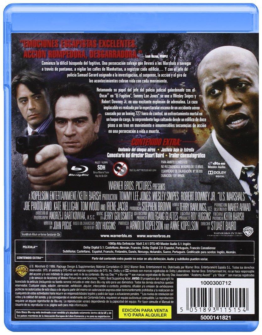 Amazon.com: US Marshals (Blu-ray) [1998] (Import Movie) (European Format - Zone 2): Movies & TV