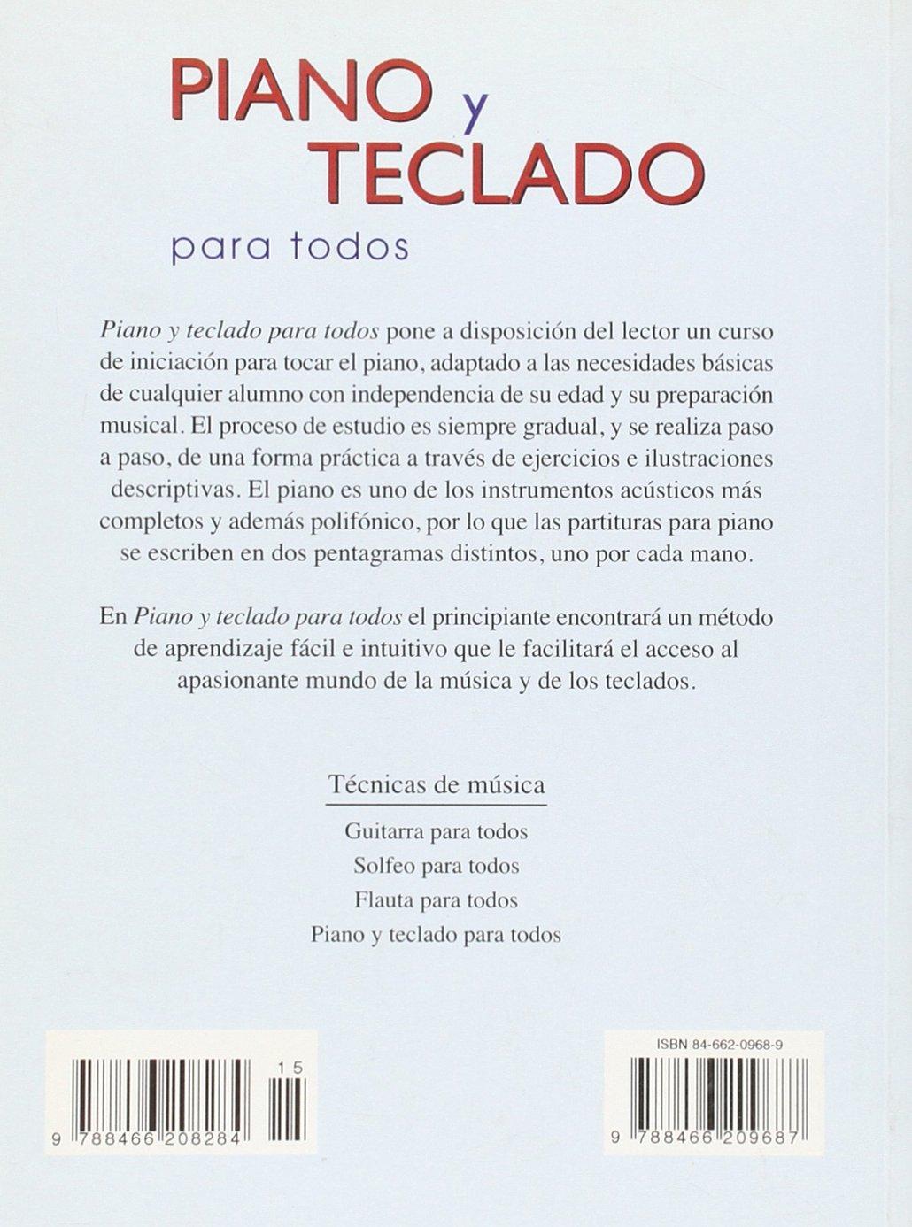 Piano Y Teclado Para Todos / Piano and Keyboard for Everyone (Tecnicas De Musica / Music Techniques) (Spanish Edition): Jose Antonio Berzal: 9788466209687: ...