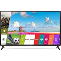 LG 108 cm (43 inches) Full HD Smart LED TV 43LJ554T (Ceramic Black) (2017 Model)