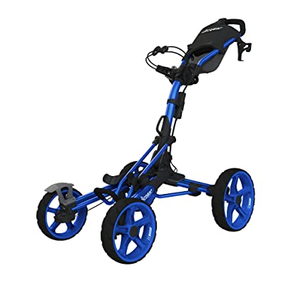 Amazon Com Clicgear Model 8 0 4 Wheel Golf Push Cart Blue