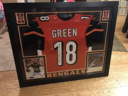 Image Unavailable. Image not available for. Color  Aj Green Cincinnati  Bengals Autographed Signed Framed Jersey - JSA ... 42415d6c7