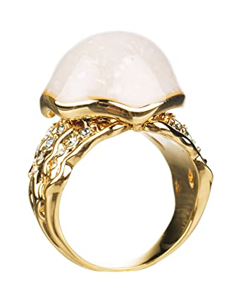 14kt Gold Plated Little Mermaid Ring from Disney Couture: Amazon.co ...