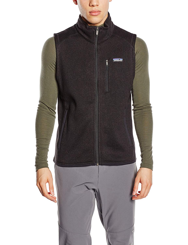 Patagonia Mens Better Sweater Vest, Black, S