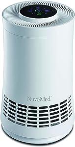 Air Purifier with True HEPA Filter, Desktop Room Air Cleaner for Allergies, Pet Dander, Smoke, Dust, Removes Odors