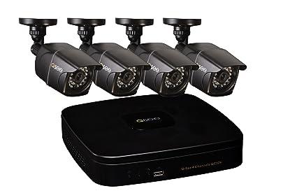 Q-See qc524 – 4e2 – 1 4 canales DVR sistema de seguridad con 4