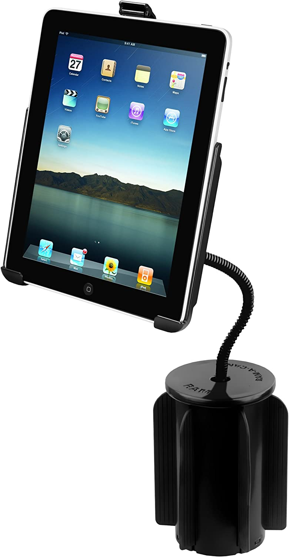 RAM RAP-299-2-AP8U Mounting Systems Flexible Arm Mount for Apple iPad Black
