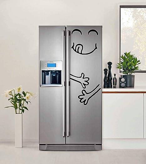 Cocina Refrigerador de la Puerta de Vinilo Lindo Pegatina el ...