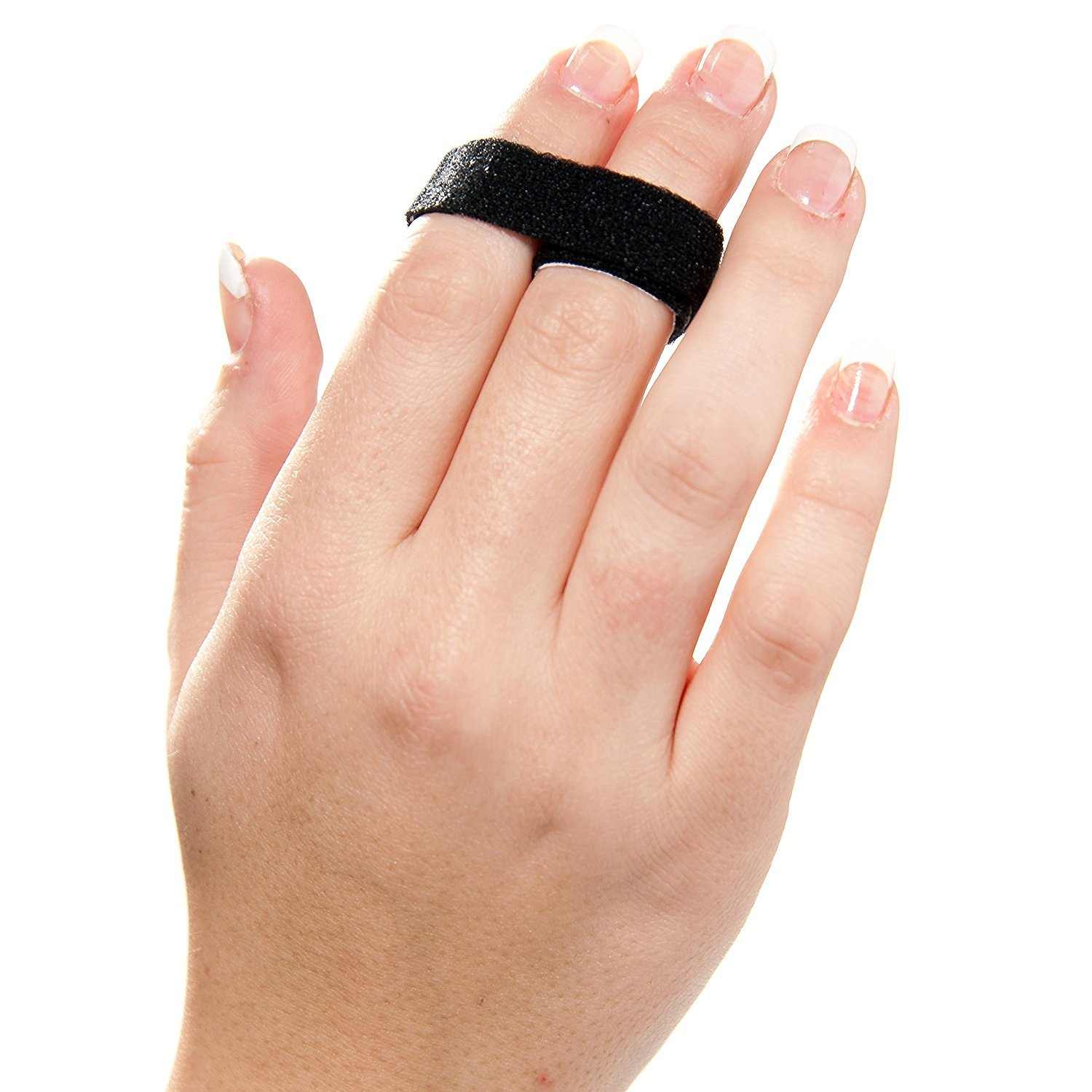 3-Point Products 3pp Buddy Loops for Jammed and Broken Fingers 1/2'', Black (Package of 25) by 3-Point Products