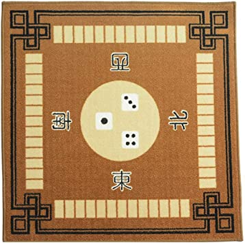 NuoEn Soft Mahjong Mat Square Table Cover, Póquer, Juegos de ...