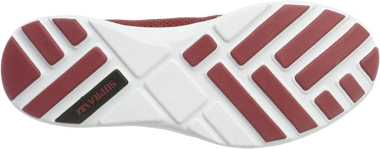 Supra Women's Hammer Run Skate Shoe Brick Red/White