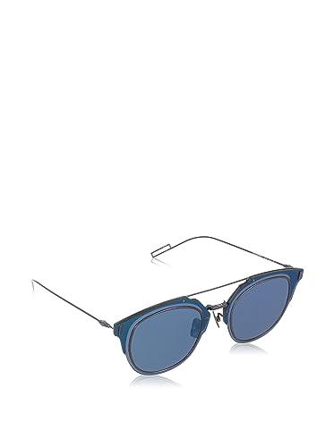 07a4d7b8109 Amazon.com  Christian Dior Composit 1 0 S Sunglasses Blue Lucido ...