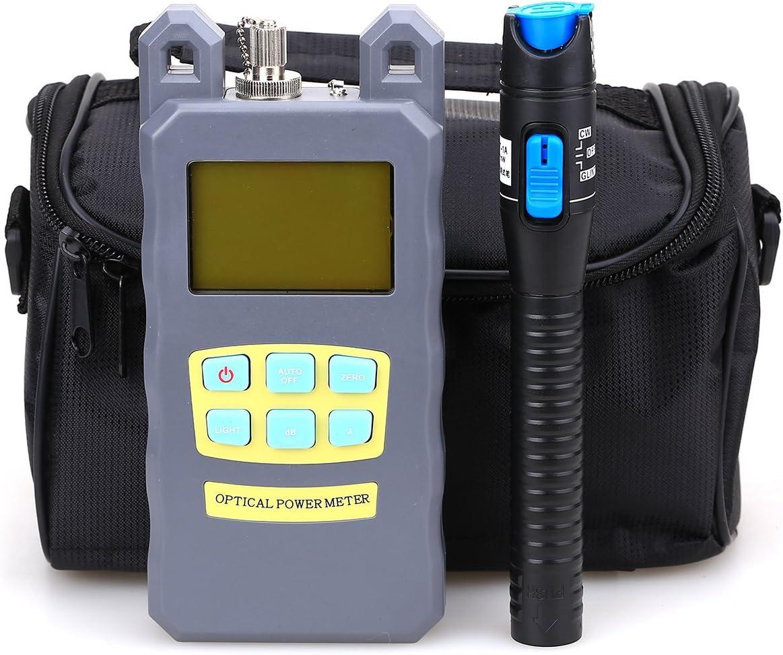 Medidor de potencia para fibra óptica FTTH con bolsa de herramientas (3 en 1)