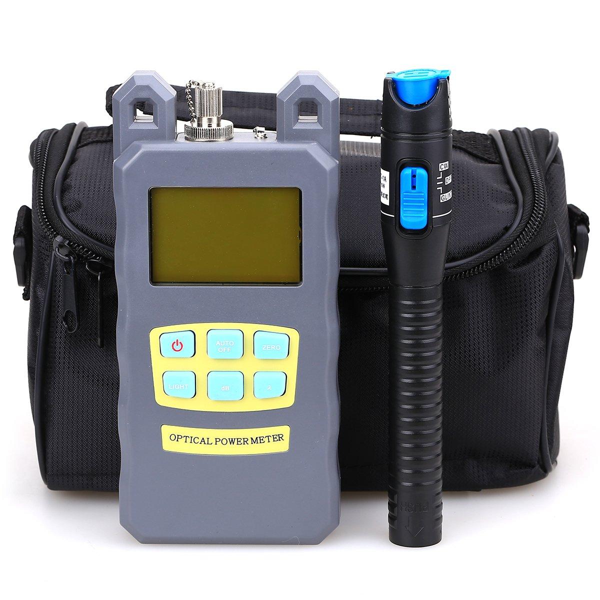 Medidor de potencia para fibra ó ptica FTTH con bolsa de herramientas (3 en 1) KLS