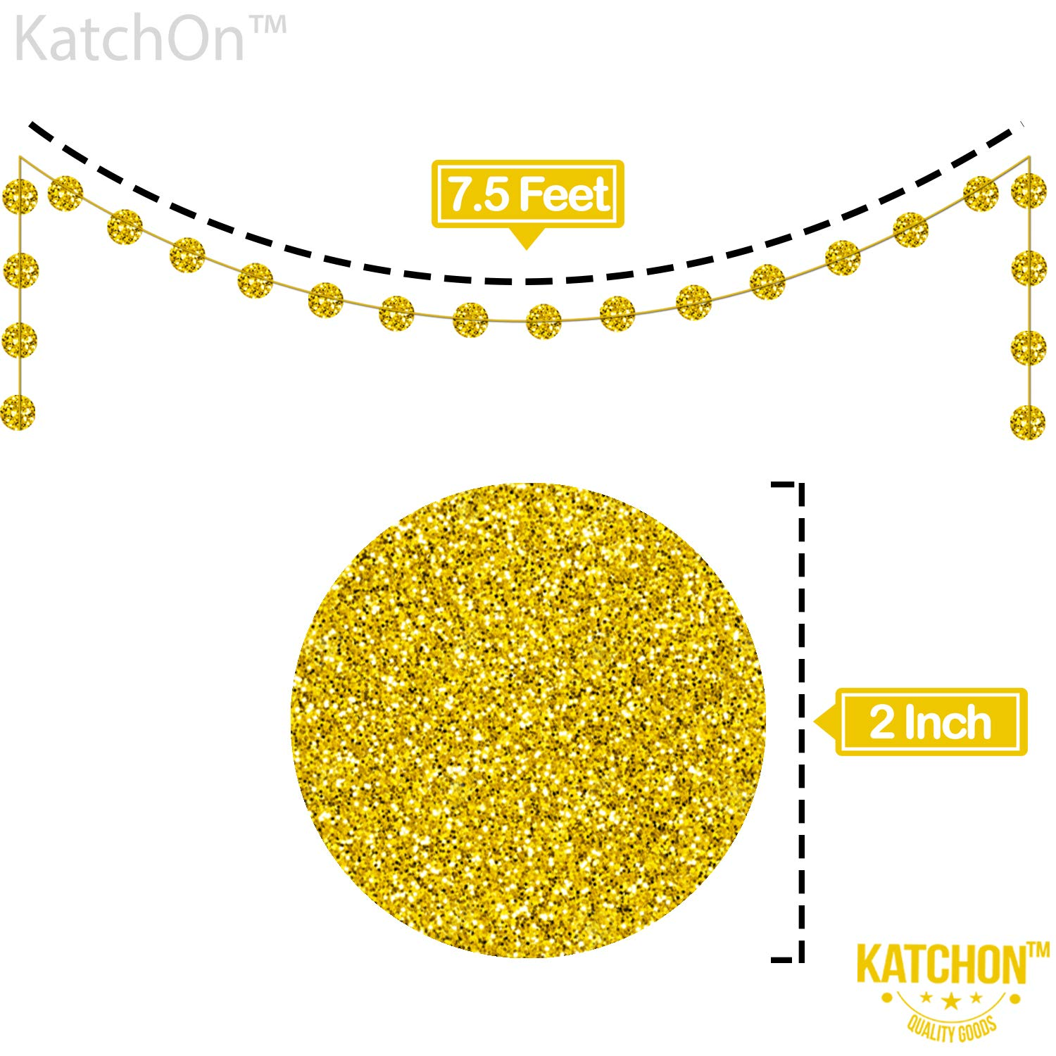 New Years Eve Party Supplies 2020 NYE Decorations Happy New Year Banner Real Gold Glitter New Years Eve Party Banner Sign Happy New Year Party Decorations 2020 Gold Circle Garland No DIY