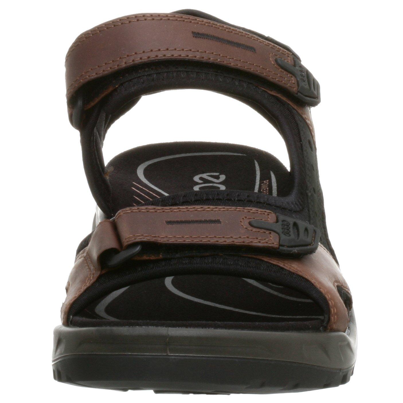 ECCO Men's Yucatan Sandal,Bison/Black/Black,44 EU (US Men's 10-10.5 M) by ECCO (Image #4)