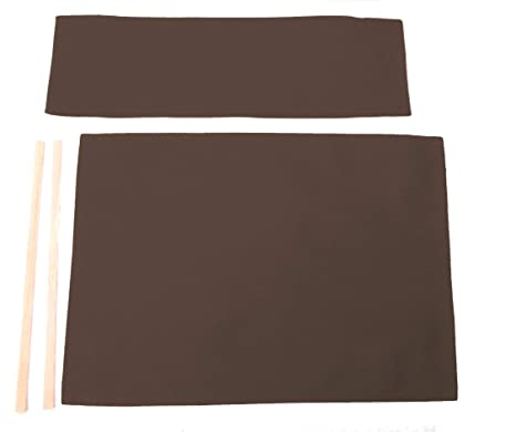 Cool Replacement Cover Canvas For Directors Chair Flat Stick Dark Brown Espresso Bralicious Painted Fabric Chair Ideas Braliciousco