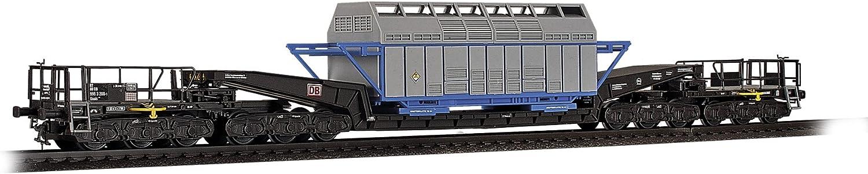 Viessmann 16504 H0 Waggon Union Schienentiefladewagen Castor