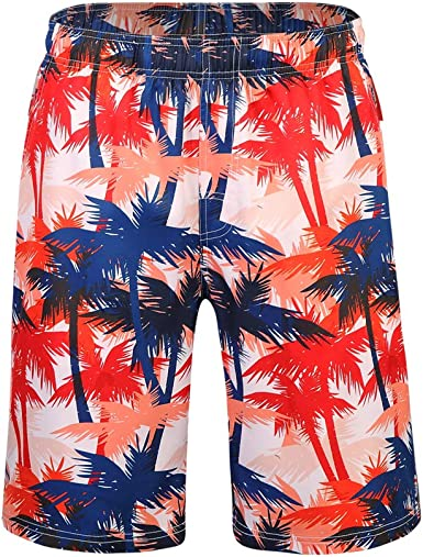 Suitable for Surfing Cube Mens Swimming Pants Swimming and Other Marine Sports Beach Shorts