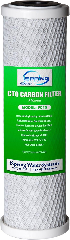 iSpring CKC1C Countertop Water Filter - The filter cartridge