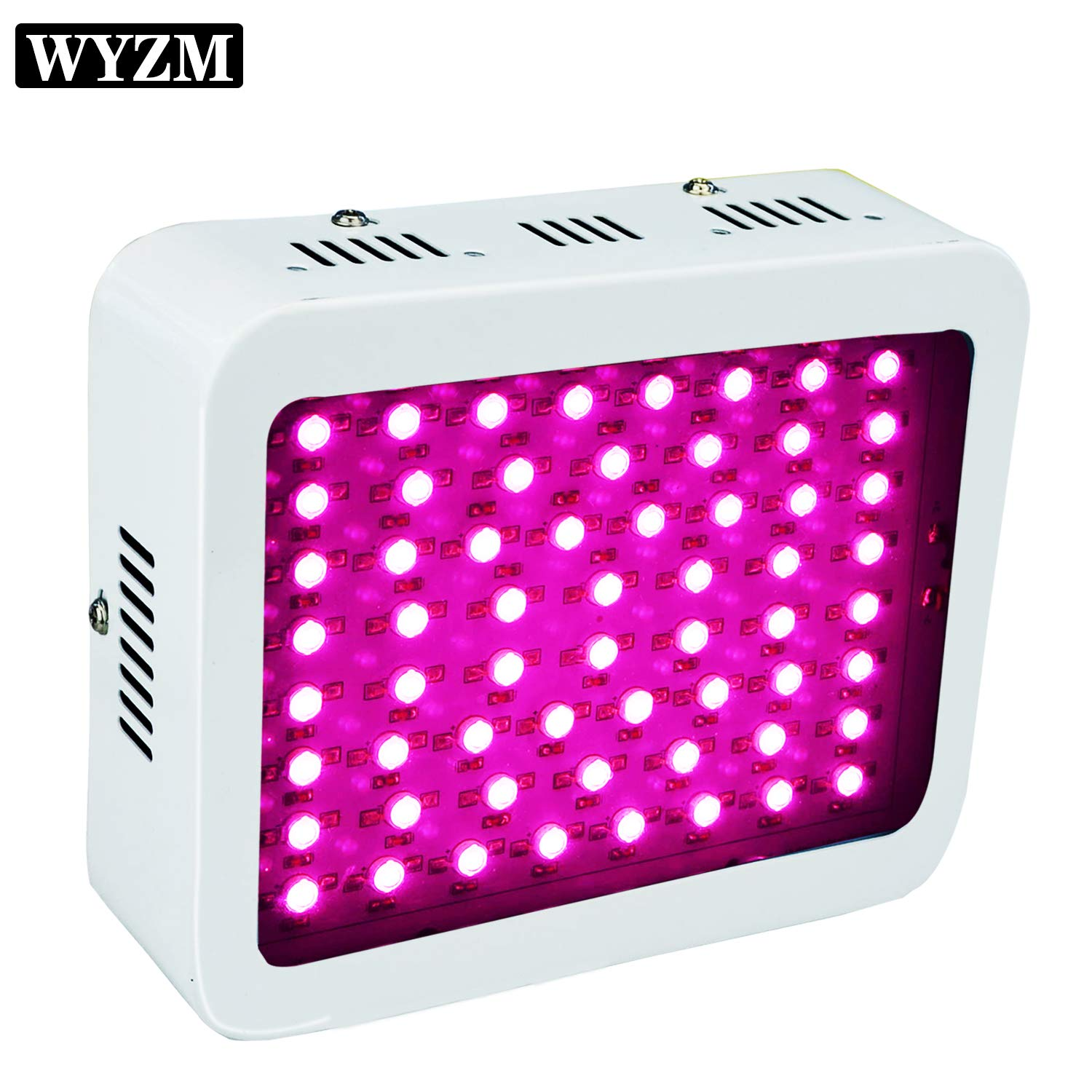 600W Full Spectrum LED Grow Light,100-265V Input,Special Design for Indoor Growing Herbs and Medical Plants (60X10W)