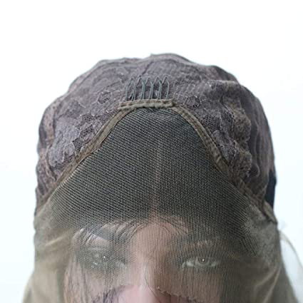 Mymyguoe Bob Style Peluca de Cabello Humano Pelucas brasile/ñas de Cabello Liso 14  Peluca para Mujer,Pelucas de Material sint/ético,Tan Natural Que Parece Pelo Real Pelucas
