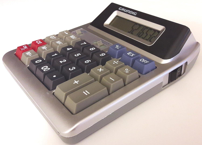 Taschenrechner tischrechner büro kasse rechner mit zwei 2 anzeigen