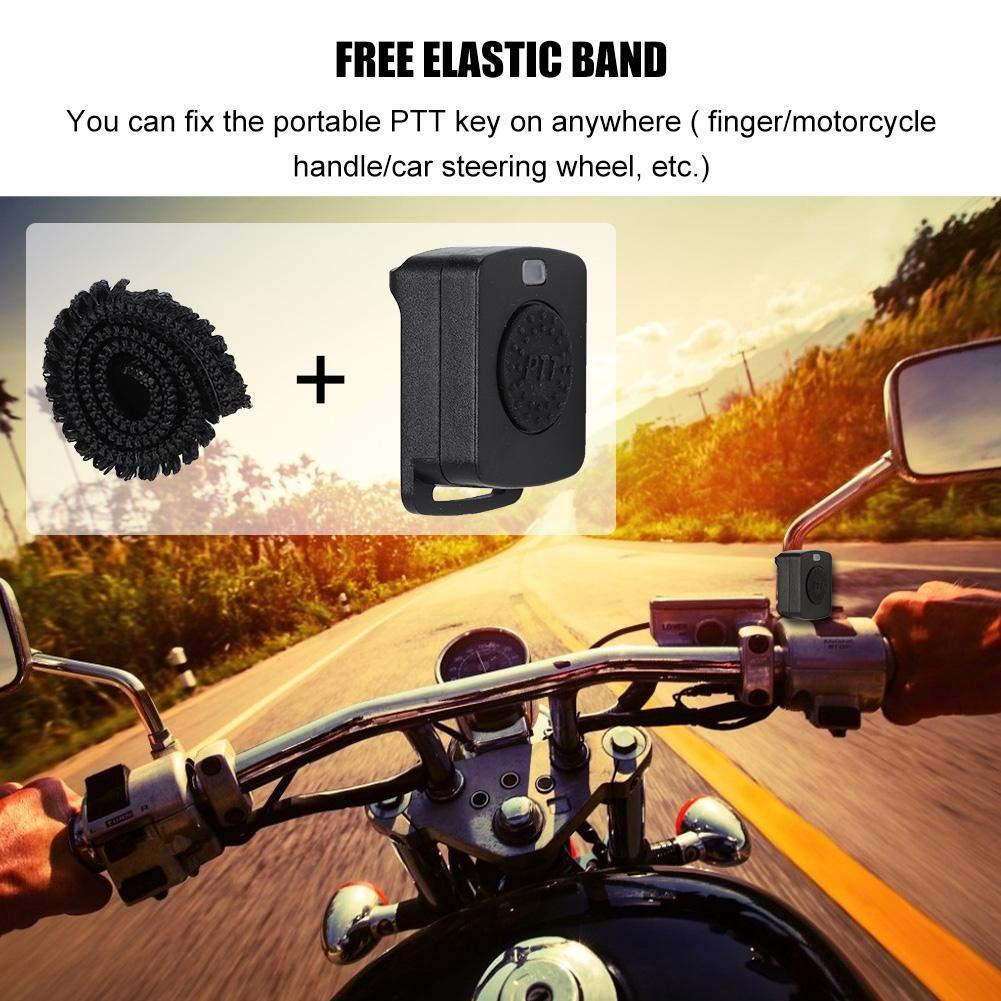 Ciglow Bluetooth Earpiece, Portable K-Head Wireless Bluetooth 4.0 Headset Earpiece with PTT Microphone Interphone Bluetooth Headset for All K-Plug Walkie Talkie by Ciglow (Image #7)