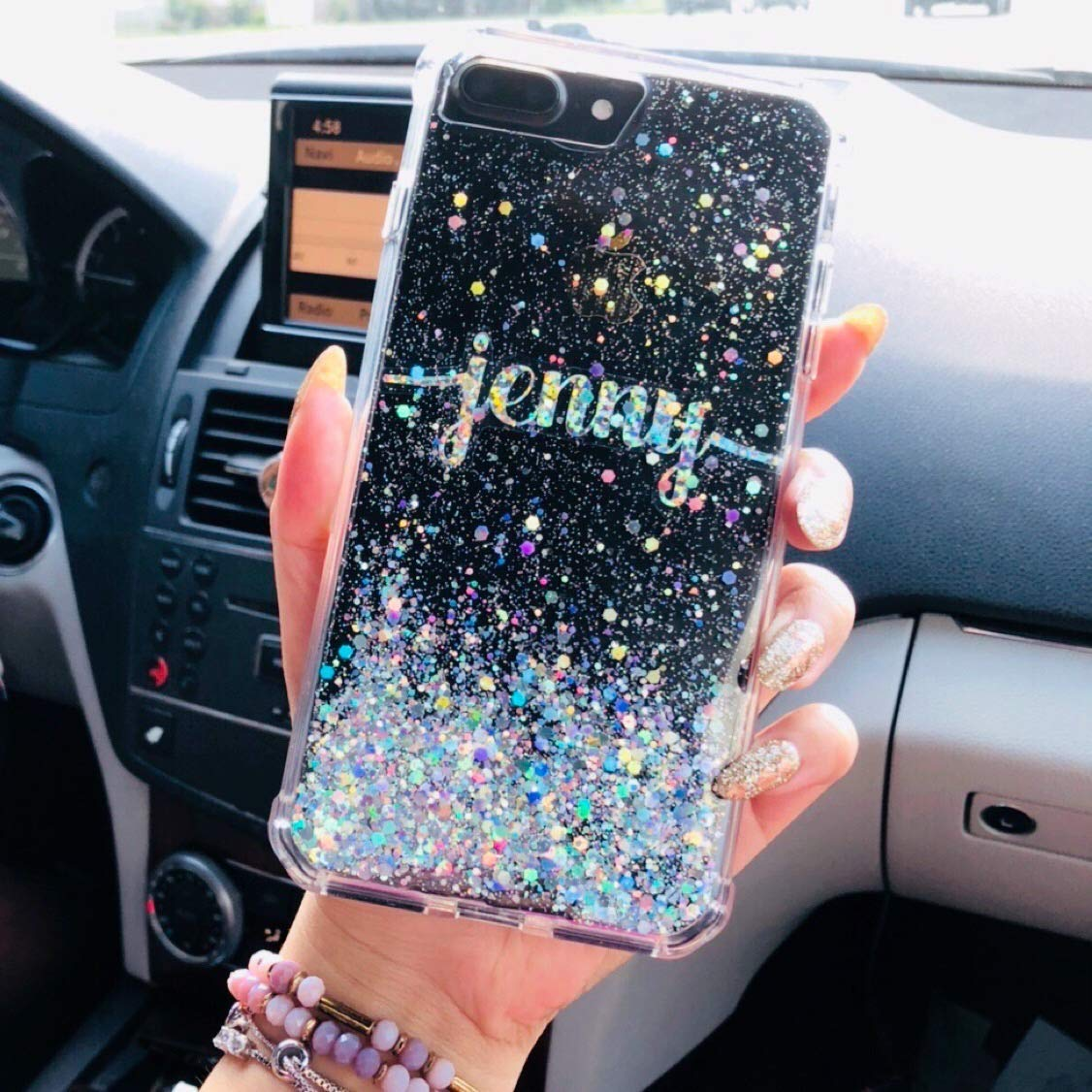 Personalized holographic silver glitter phone case Google pixel 3 case, google pixel 3 xl case, google pixel 2 xl, google pixel 2, google pixel xl, google pixel, iPhone Xs Max case, iPhone Xs case