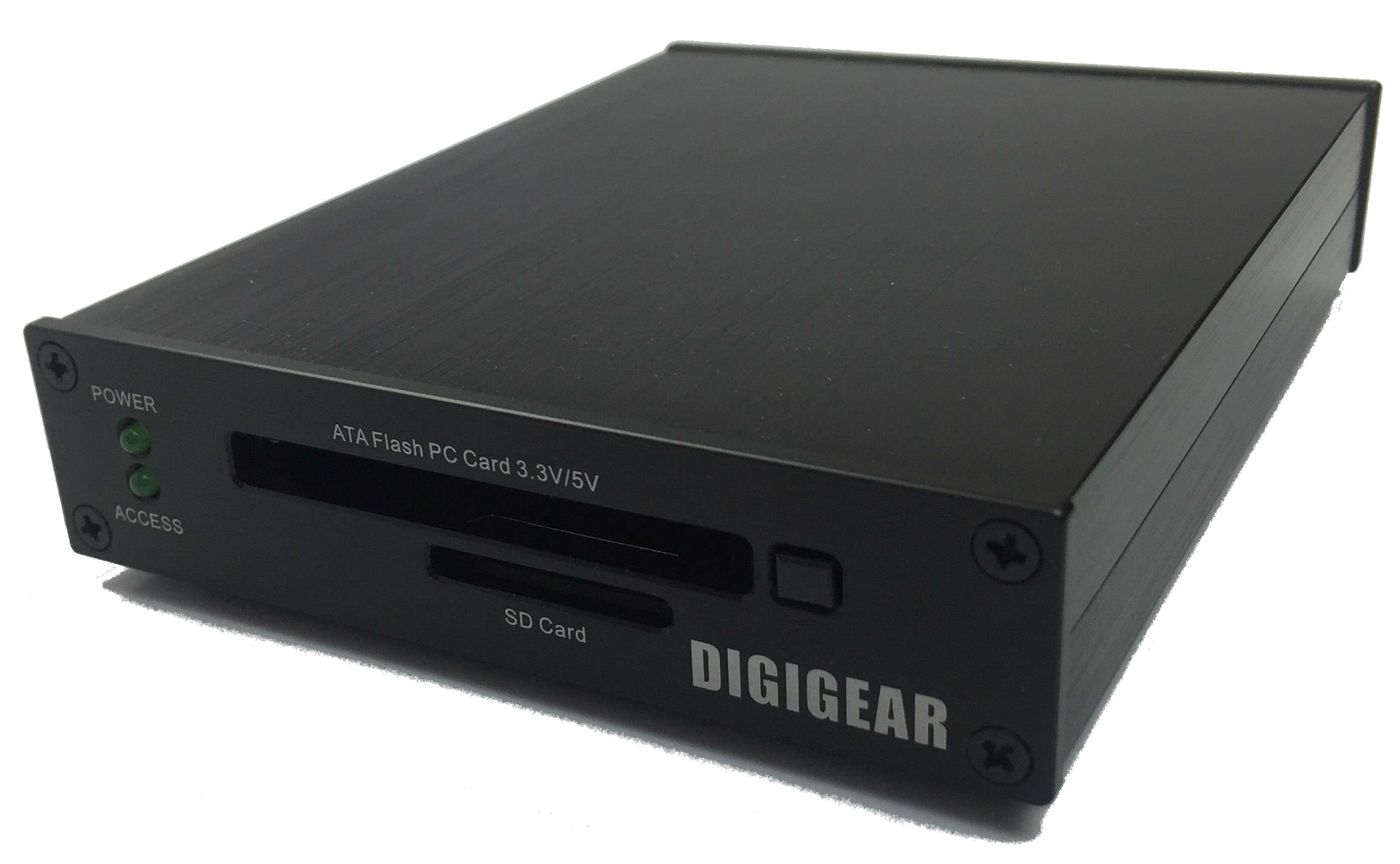 DIGIGEAR ATA Flash PCMCIA PC Card & SD/SDHC/SDXC USB 3.0 Industrial Grade Reader by Digigear (Image #1)